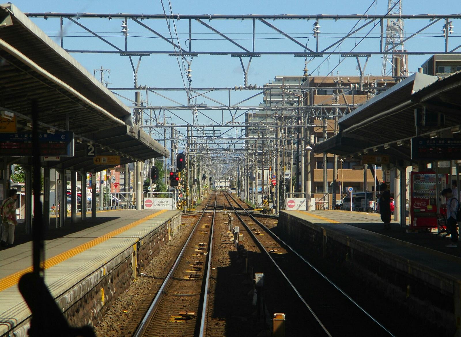 2018.8.17 (9) 岐阜いき特急 - 国府宮 1600-1170