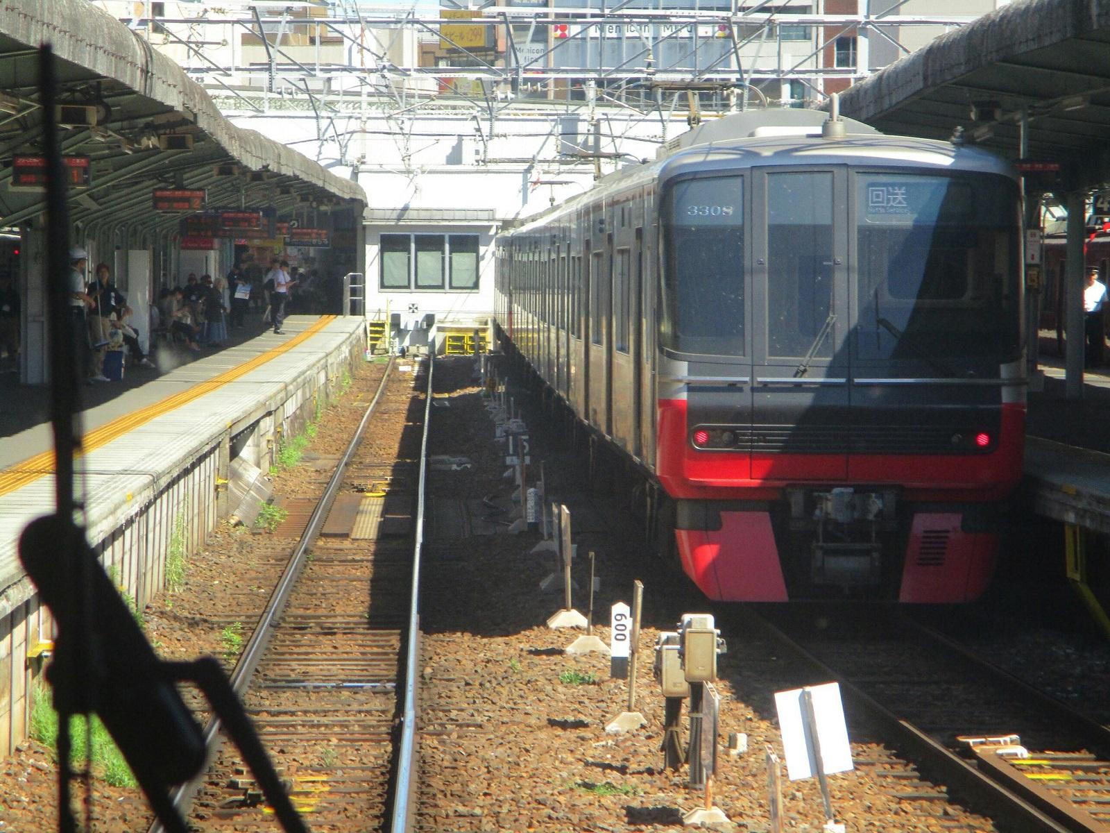2018.8.17 (30) 岐阜いき特急 - 岐阜(回送) 1600-1200