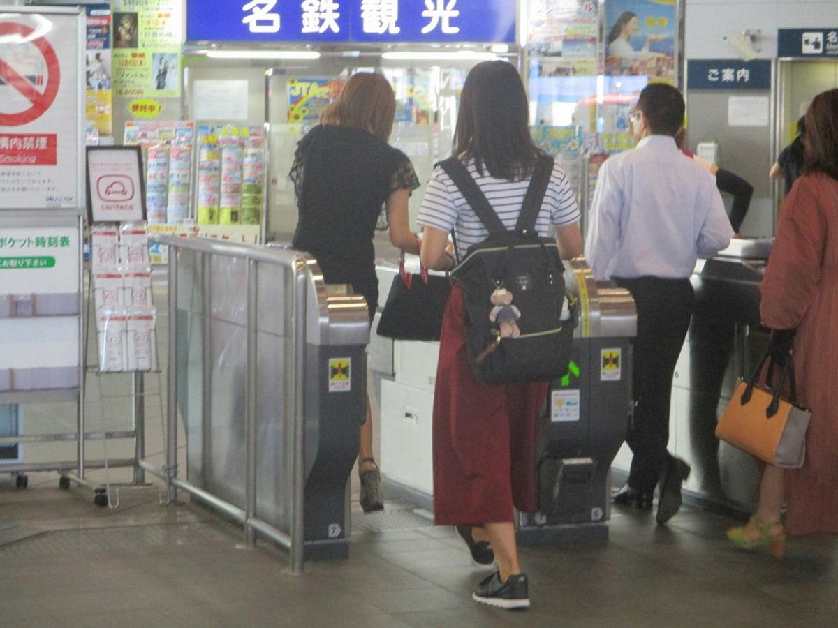 2018.8.17 (32) 岐阜 - かいさつ(名古屋本線) 1200-900