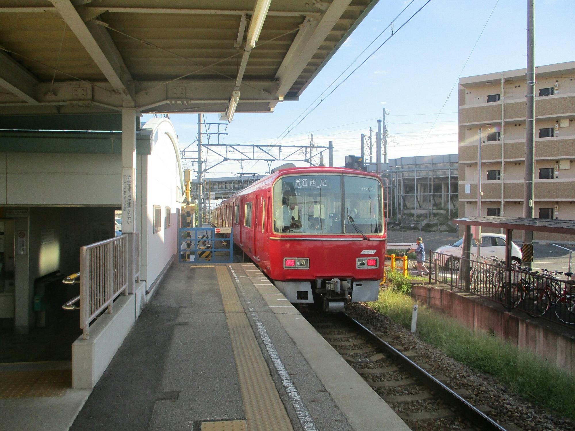 2018.8.17 (97) 古井 - 西尾いきふつう 2000-1500