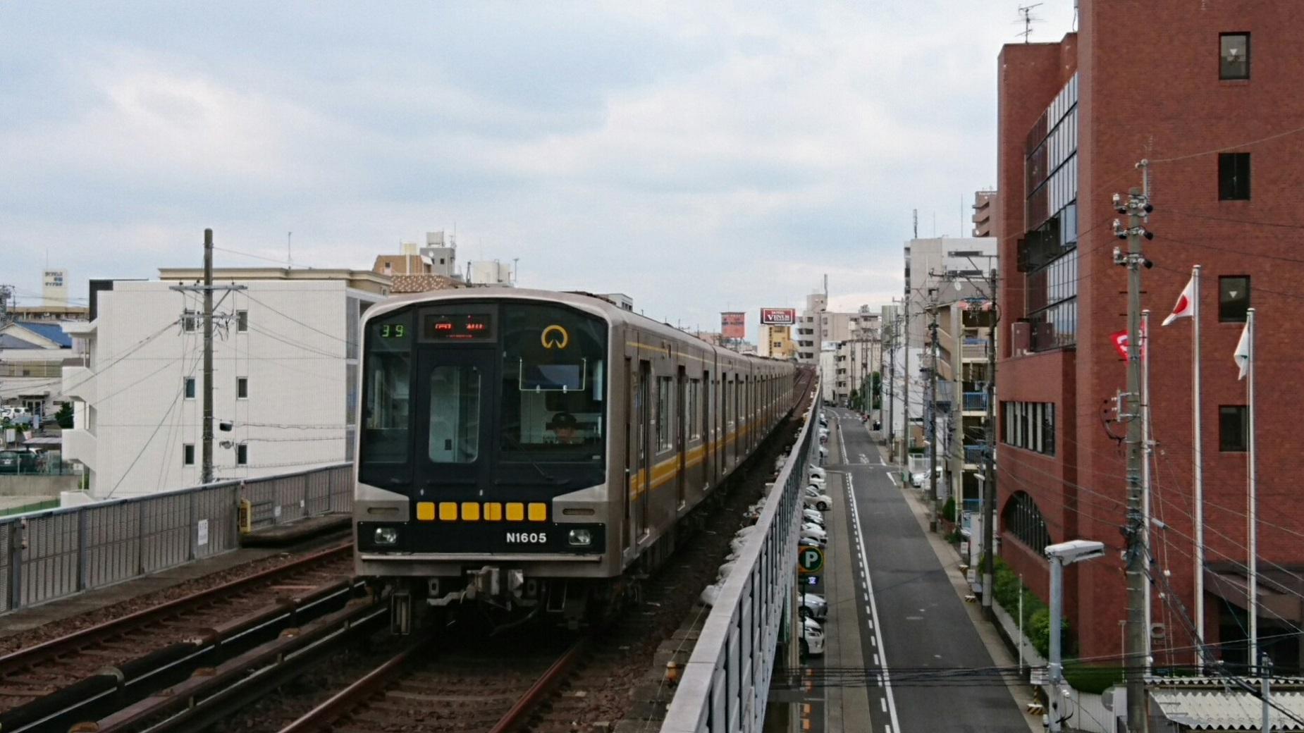 2018.8.20 (5) 本郷 - 高畑いき 1850-1040