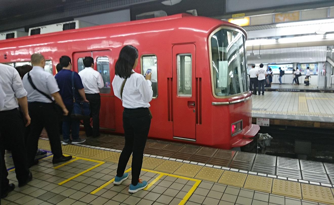 2018.8.20 (6) 名古屋 - 豊橋いき快速特急 1320-810
