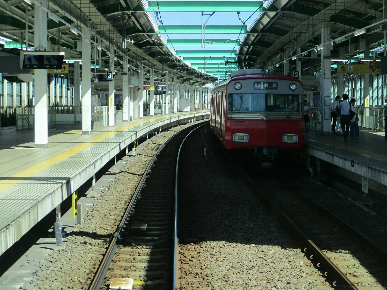 2018.8.22 (16) 東岡崎いきふつう - 鳴海(岩倉いきふつう) 1600-1200