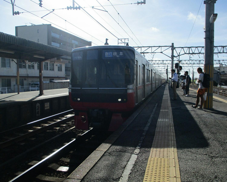 2018.8.25 (4) しんあんじょう - 岐阜いき急行(まえ) 1500-1200