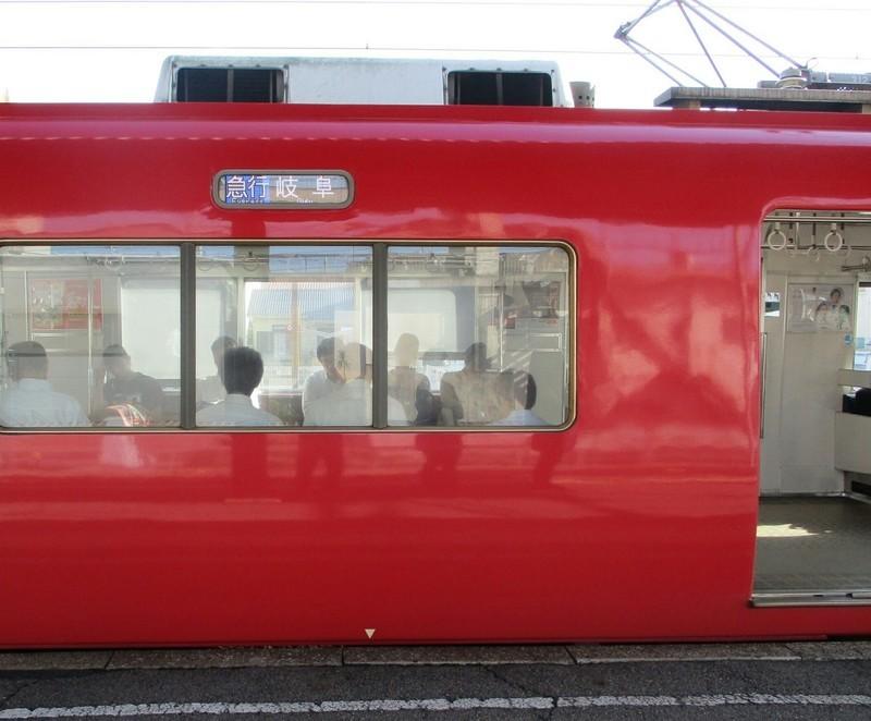 2018.8.25 (5) しんあんじょう - 岐阜いき急行(うしろ) 1330-1100