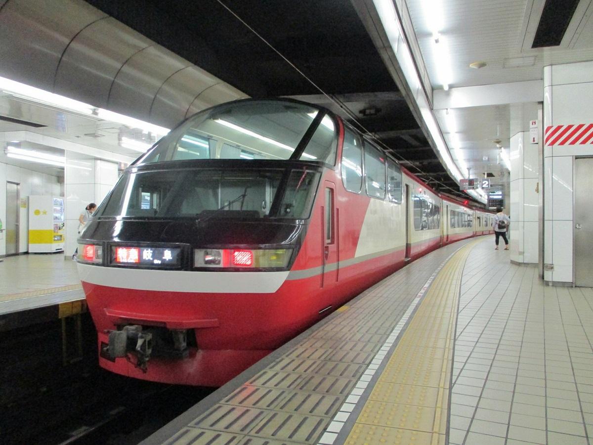 2018.8.25 (9) 名古屋 - 岐阜いき特急 1200-900