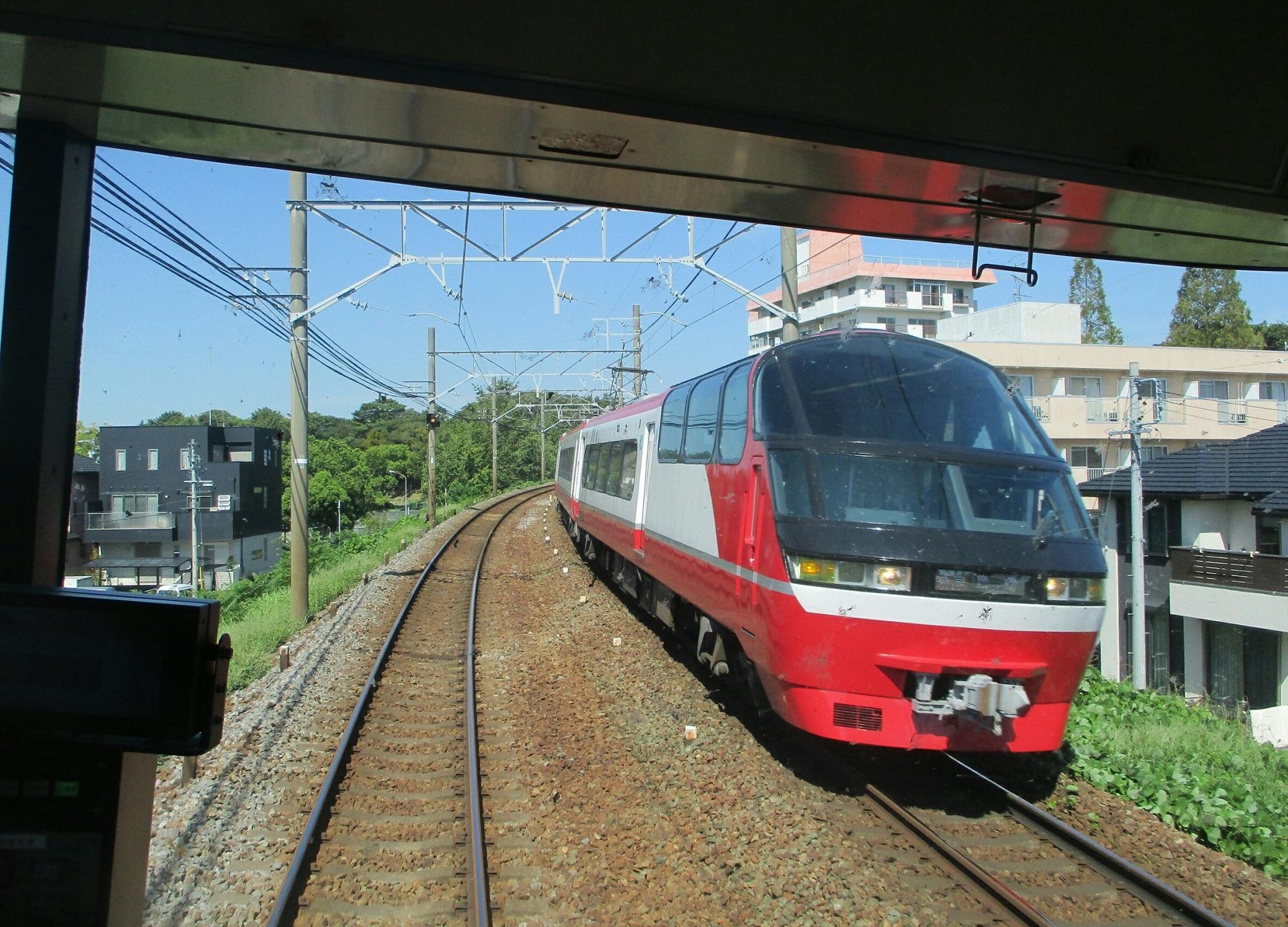 2018.8.27 (16) 岐阜いき特急 - 東岡崎-岡崎公園前間 2000-1440