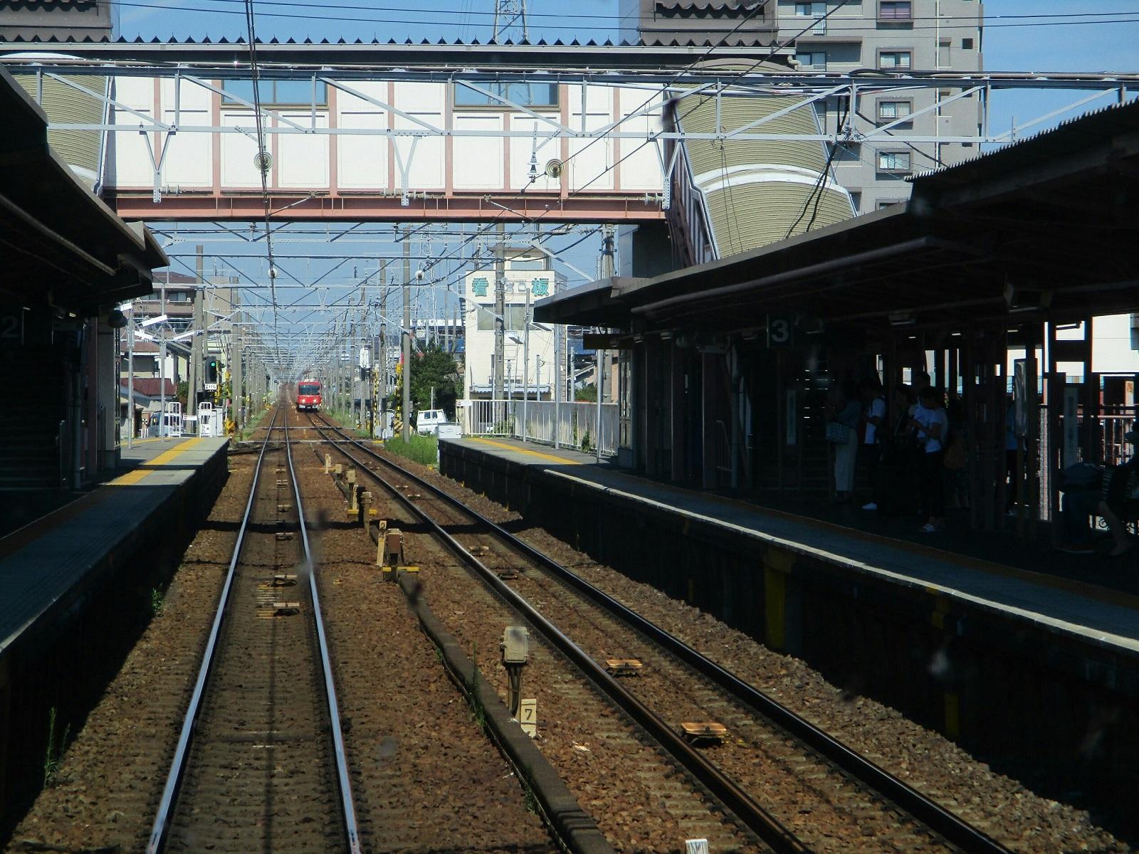 2018.8.27 (18) 岐阜いき特急 - 矢作橋 1600-1200