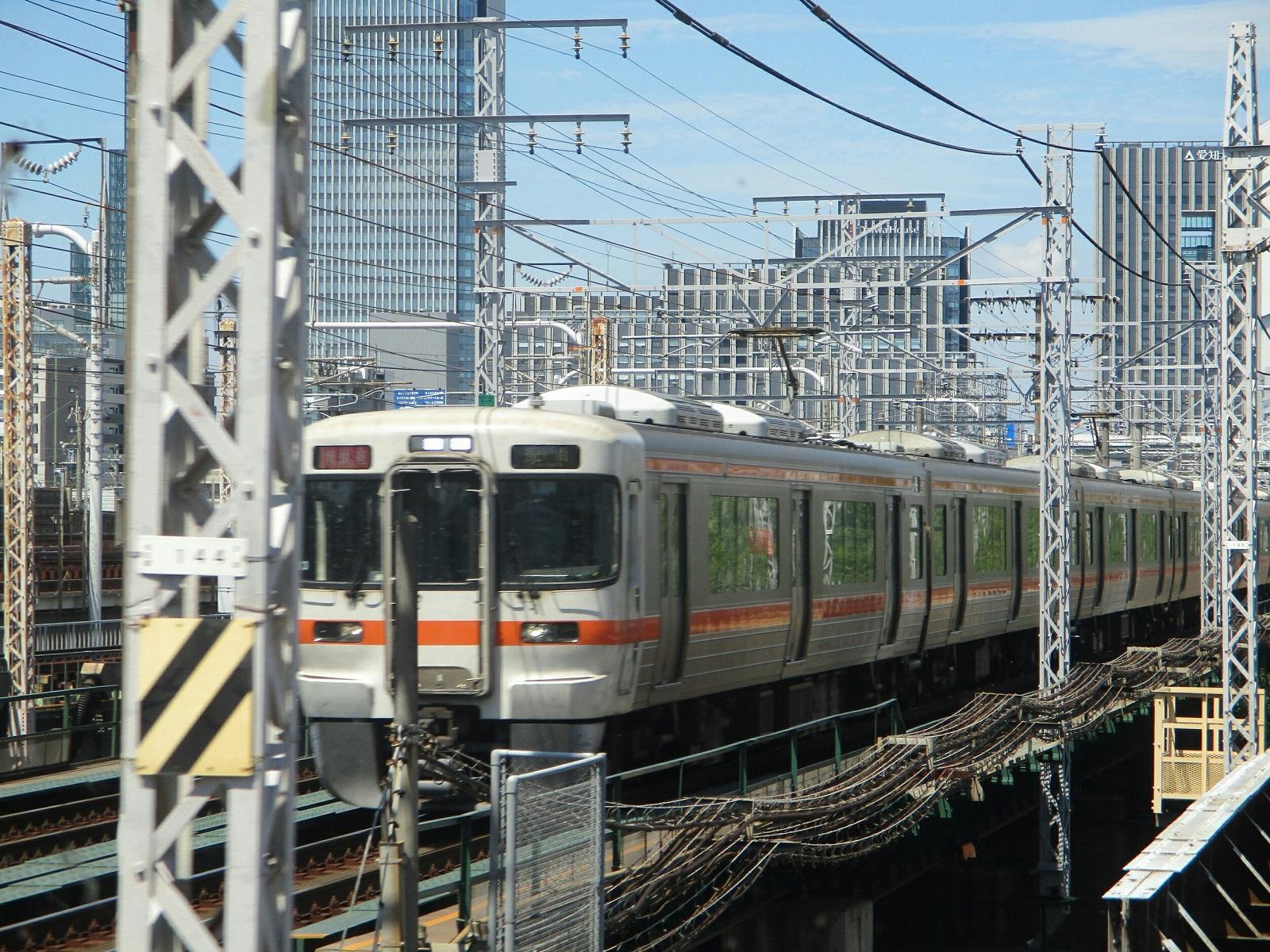 2018.8.27 (33) 弥富いきふつう - 山王-名古屋間 1600-1200