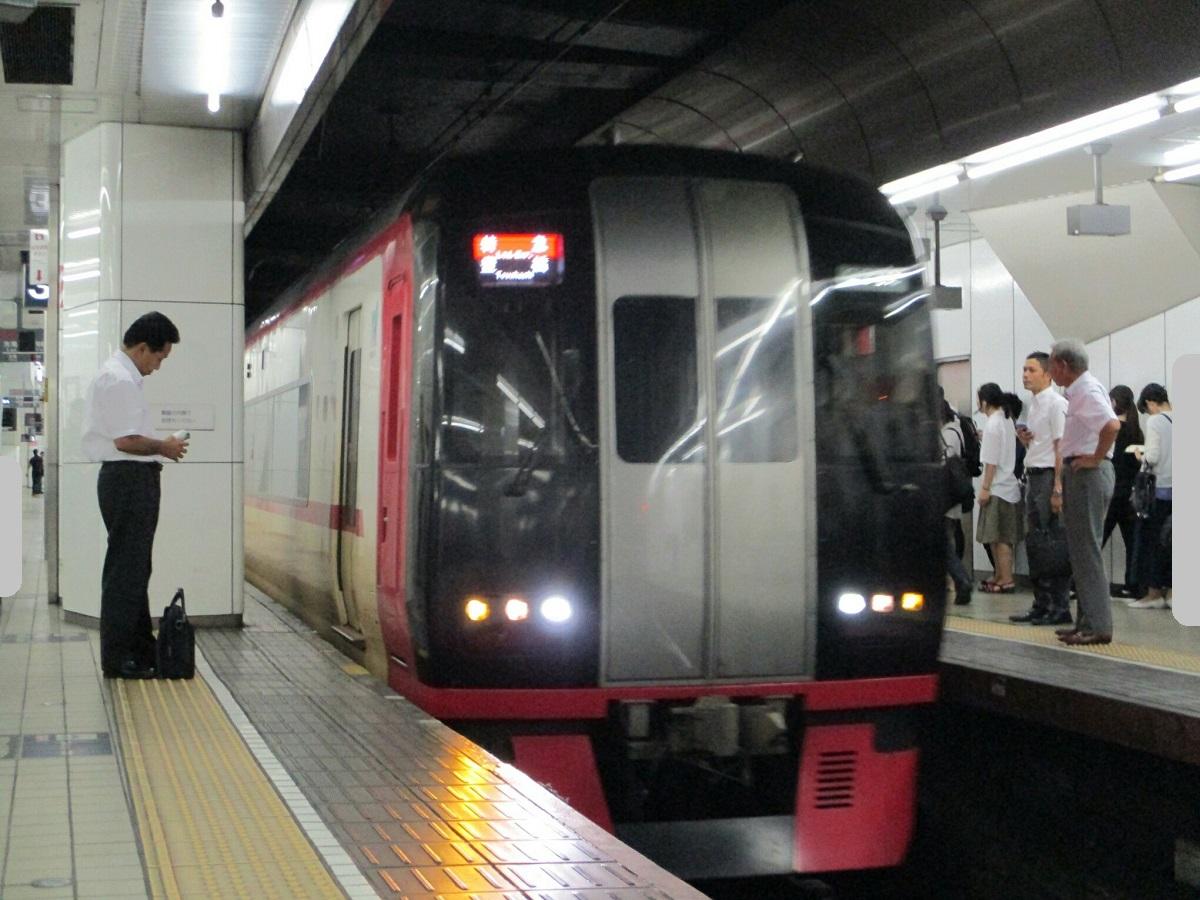 2018.8.27 (56) 名古屋 - 豊橋いき特急 1200-900