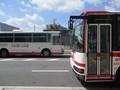 2018.8.29 (13) アンフォーレバス停 - 更生病院いきバスとしんあんじょうい