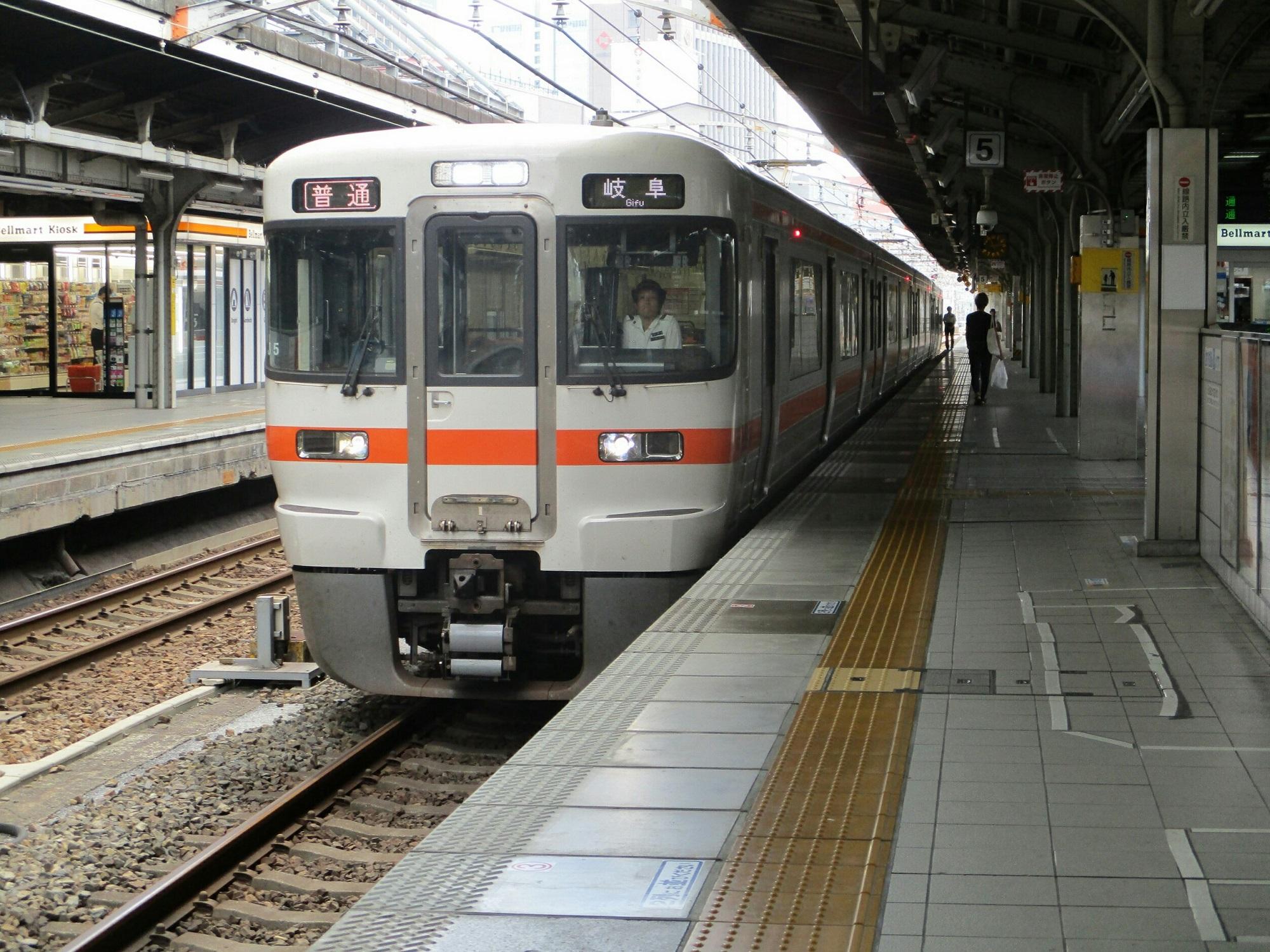 2018.8.29 (37) 名古屋 - 岐阜いきふつう 2000-1500