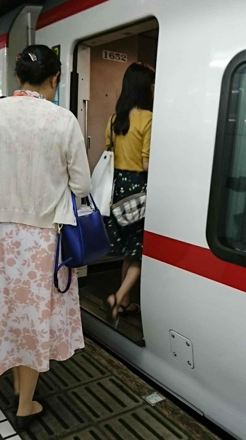 2018.8.29 (118) 名古屋 - 豊橋いき特急 1000-1790