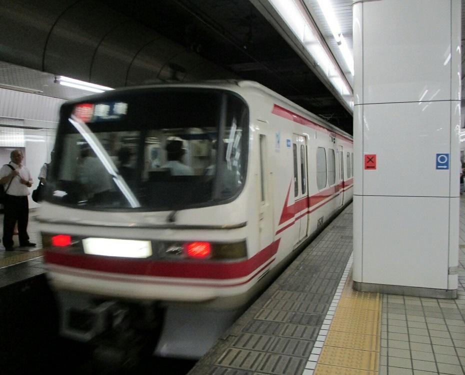 2018.8.31 (26) 名古屋 - 豊橋いき特急 930-750