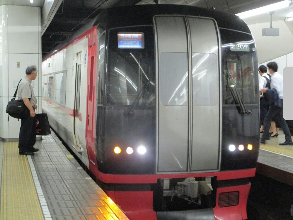 2018.8.31 (35) 名古屋 - セントレアいき特急 1000-750