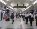 2018.9.4 (73) 名古屋 - 「まもなく電車が…」 1540-1200