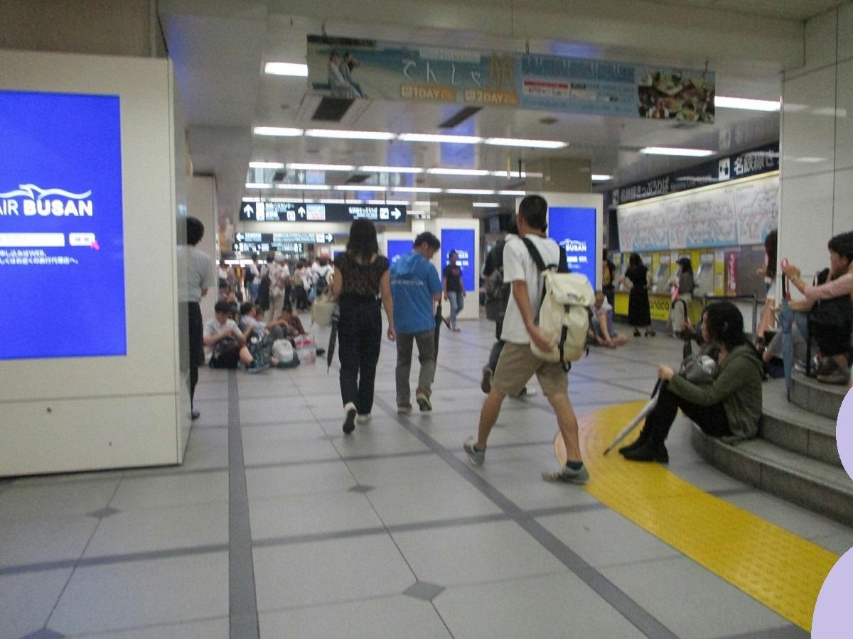 2018.9.4 (77) 名鉄名古屋 - コンコース 1200-900