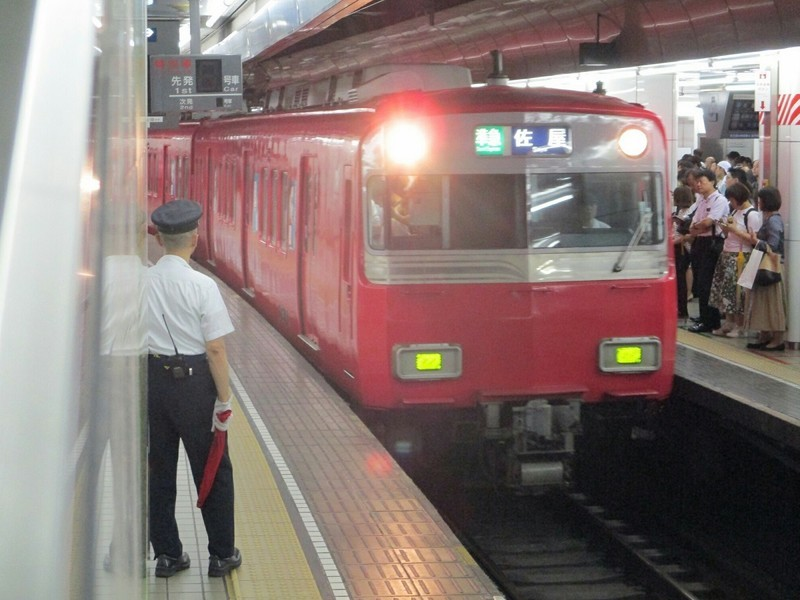2018.9.7 (106) 名古屋 - 佐屋いき準急 1200-900