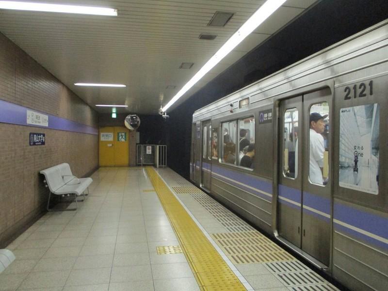 2018.9.10 (13) 八事日赤 - 名城線ひだりまわり 1400-1050