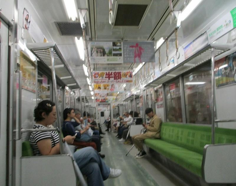 2018.9.10 (17) 名城線ひだりまわり - 八事日赤 950-750