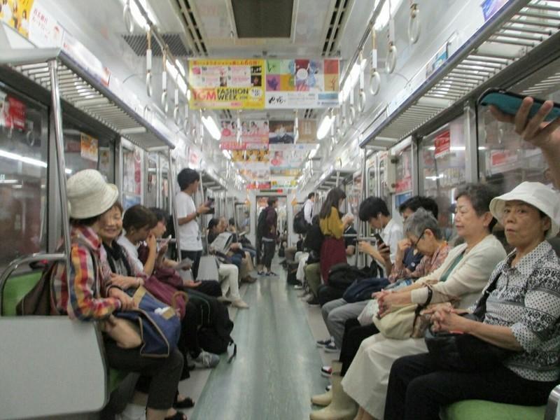 2018.9.11 (20) 名城線ひだりまわり - 八事日赤 1200-900