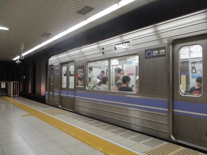 2018.9.11 (21) 八事日赤 - 名城線ひだりまわり 1200-900