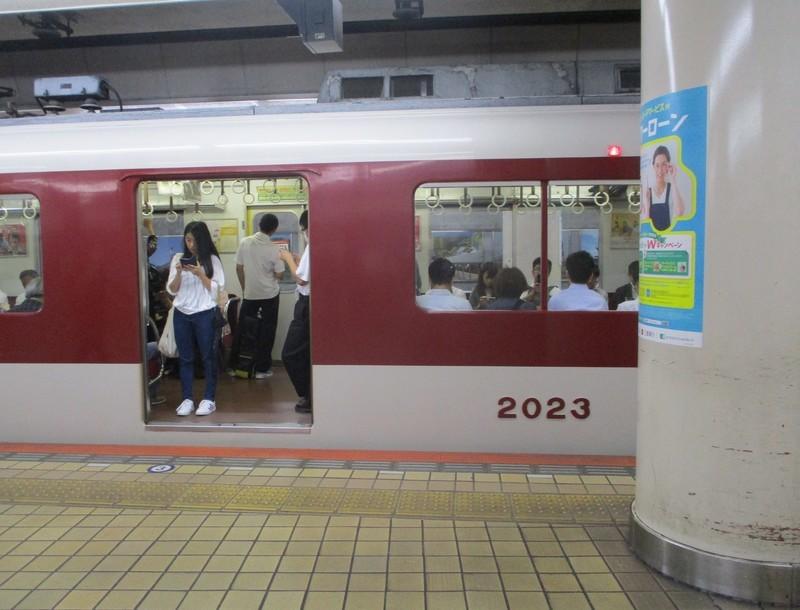 2018.9.12 (41) 名古屋 - 四日市いき準急 1770-1350