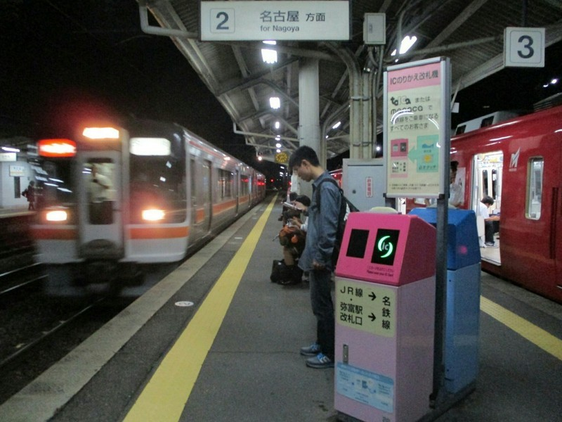 2018.9.12 (46) 弥富 - 豊明いきふつうと名古屋いき快速みえ 1600-1200