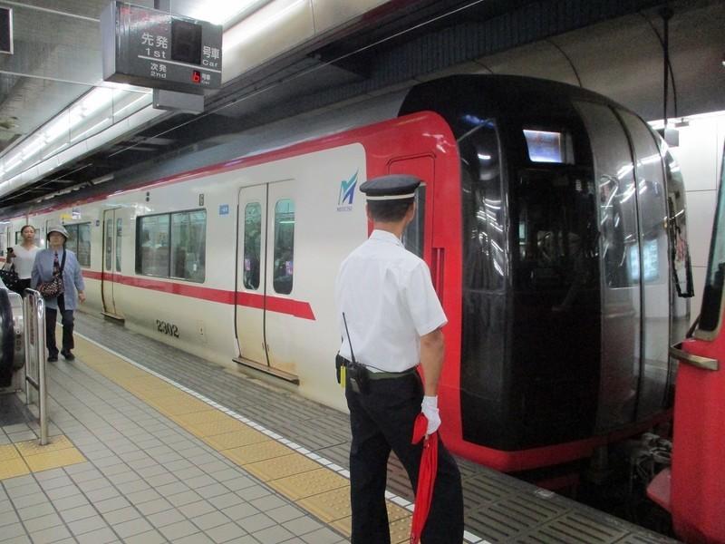 2018.9.19 (12) 名古屋 - 岐阜いき特急 1200-900