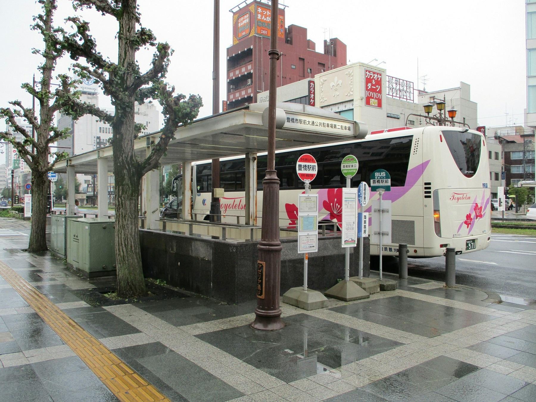 2018.9.20 (12) 豊橋信用金庫まえ - 豊鉄バス 1800-1350