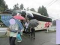 2018.9.20 (100) 田峯 - バスをおりる 1600-1200