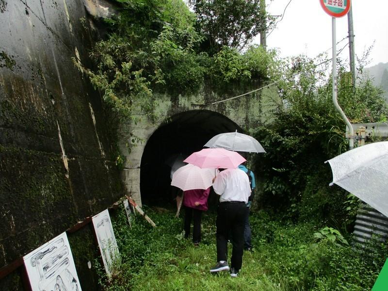 2018.9.20 (105) 田峯 - 森林鉄道あと(トンネル) 1600-1200