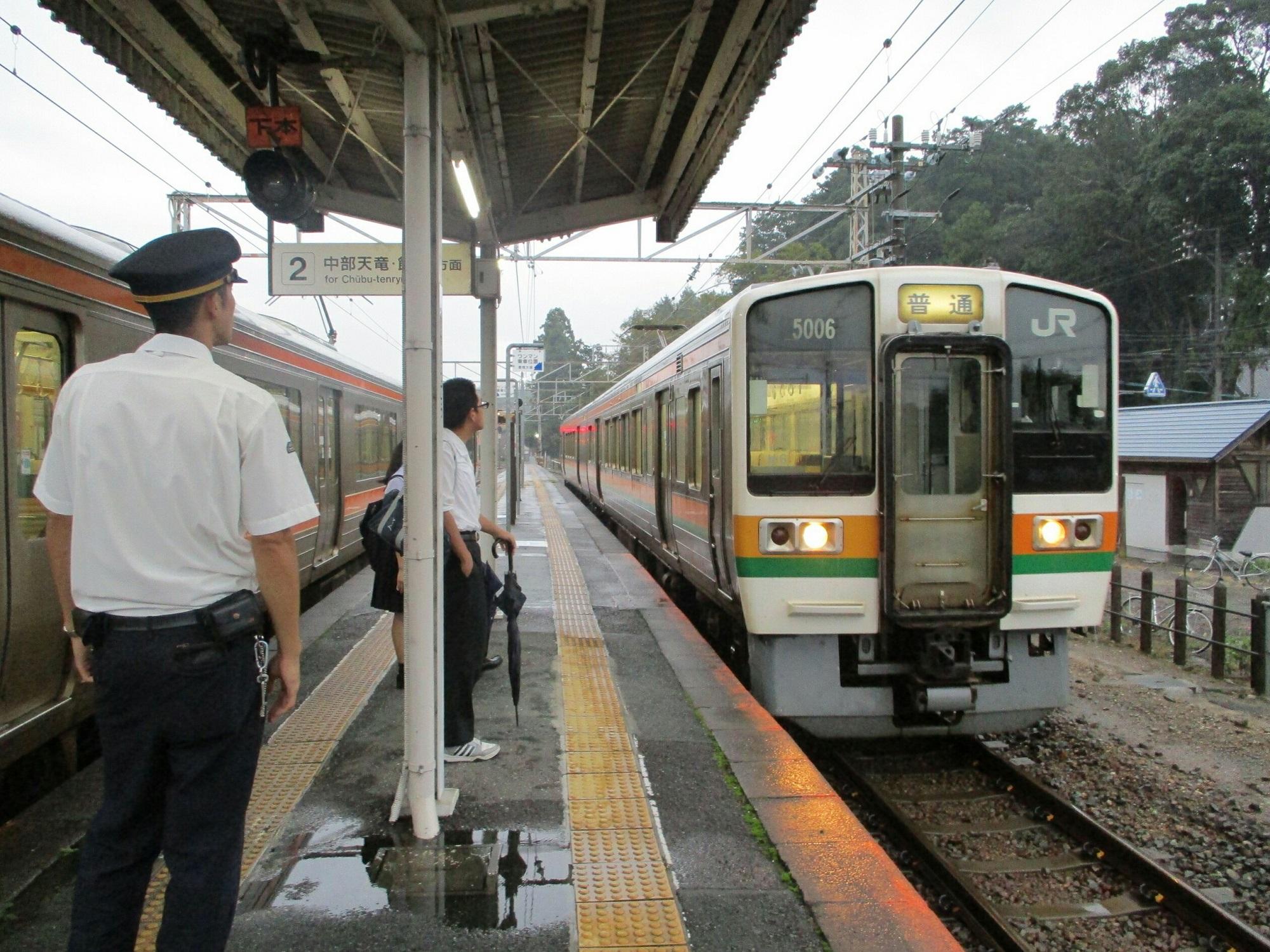 2018.9.20 (122) 三河東郷 - 豊橋いきふつう 2000-1500
