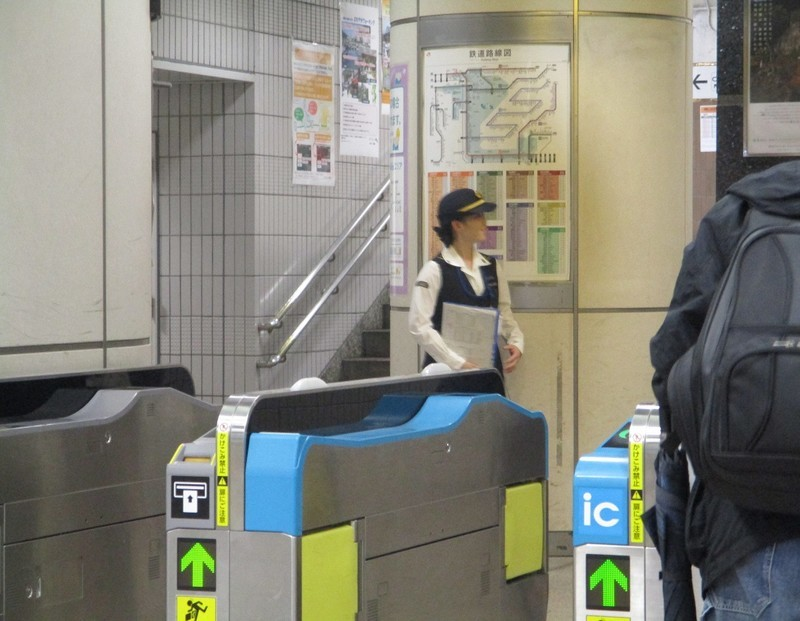 2018.9.26  (6) JR名古屋駅 - かいさつ 1160-900