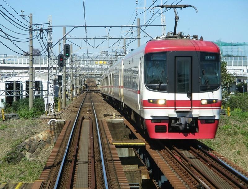 2018.9.28 (12) 岐阜いき特急 - 富士松-豊明間(豊橋いき特急) 1970-1500