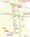 2018.10.1 あんじょう市内名鉄バス路線図(路線図ドットコム) 625-755