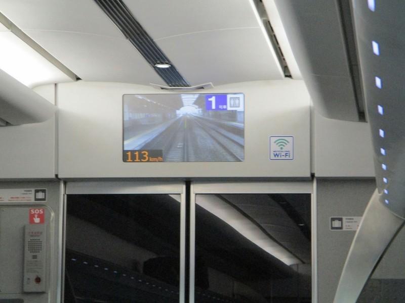 2018.10.23 (43) 名古屋いきミュースカイ - 前方モニター 1200-900