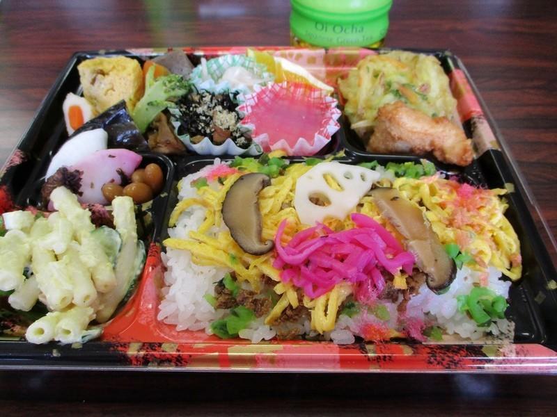 2018.10.28 (20) 明智 - 山岡のおばあちゃんのてづくりのみせのべんとう 1200