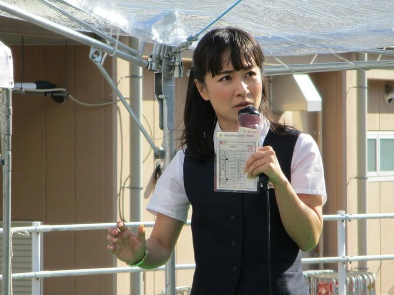 2018.10.28 (29) 明知鉄道あきまつり - トークショー(豊岡真澄さん) 2000-1500