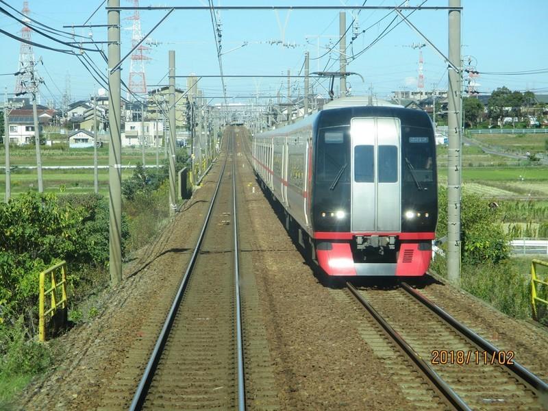20118.11.2 (3) 岐阜いき特急 - 一ツ木-富士松間(豊橋いき特急) 1800-1350