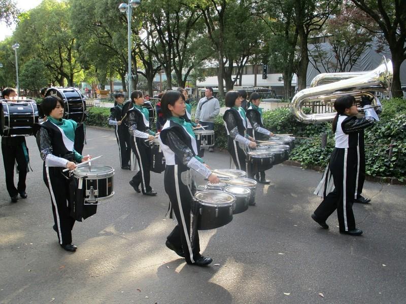 2018.11.3 (9) 栄まちじゅう音楽ひろば - 美濃加茂高校 2000-1500
