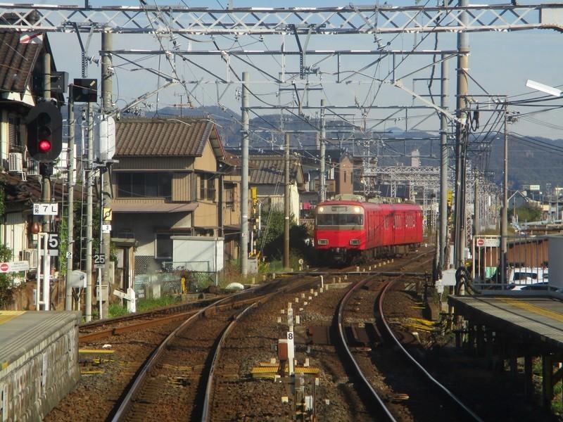 2018.11.7 (18) 岐阜いき特急 - 笠松(回送) 2000-1500