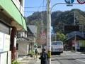2018.11.7 (24) 岐阜公園バス停から金華山頂の岐阜城をみる 1600-1200