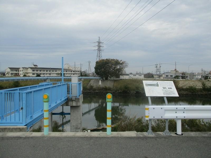 2018.11.12 (97) 五条川 - 法界門堰あと 1600-1200