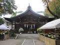 2018.11.12 (108) 萱津神社 - 拝殿 1600-1200