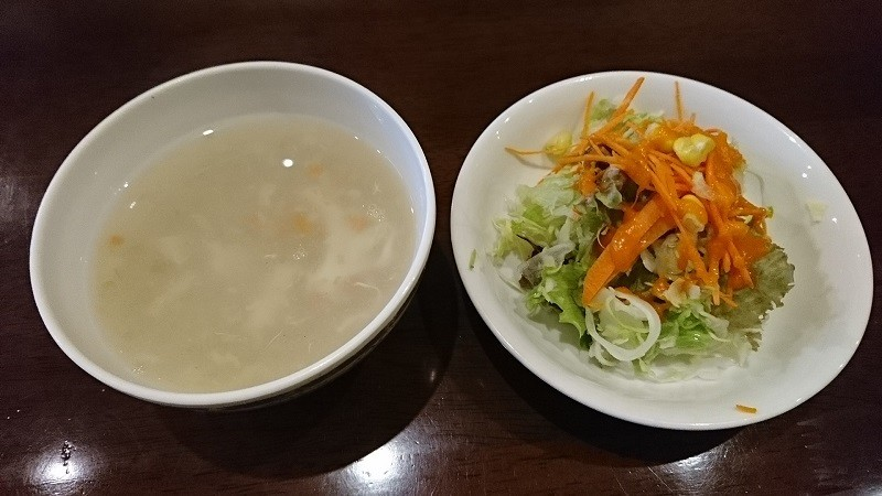 2018.11.14 (31あ) ビシュヌ - スープとサラダ 800-450