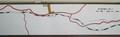 2018.11.17 (70) 田口線モハ14 - 田口線路線図 7.鳳来寺 1970-600