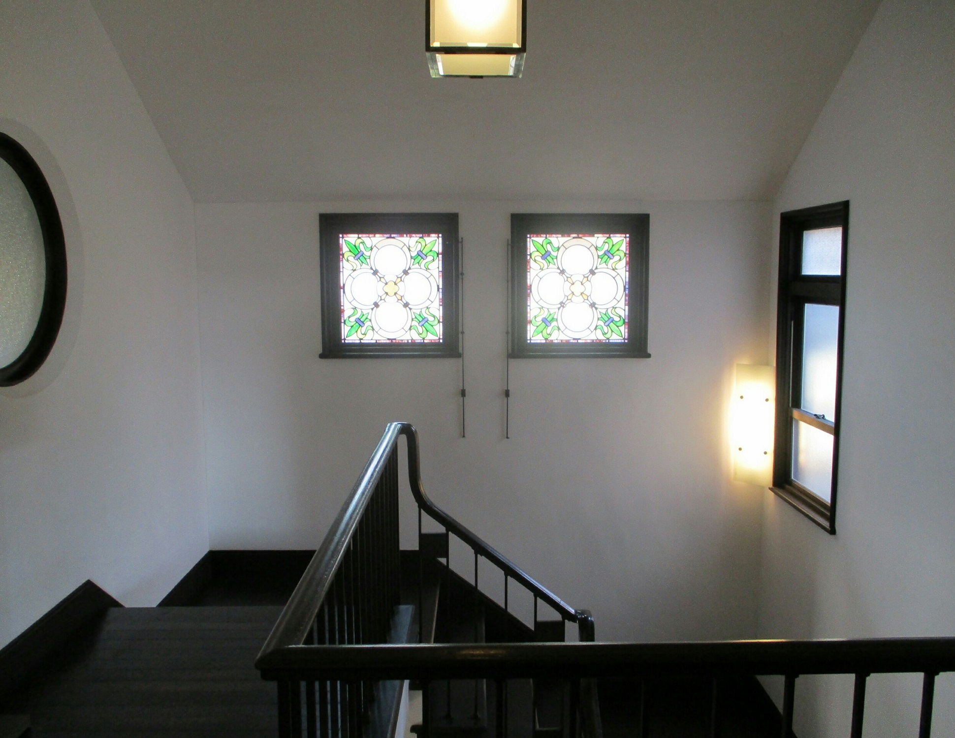 2018.11.25 (14) 旧本田忠次邸 - 階段 1940-1500