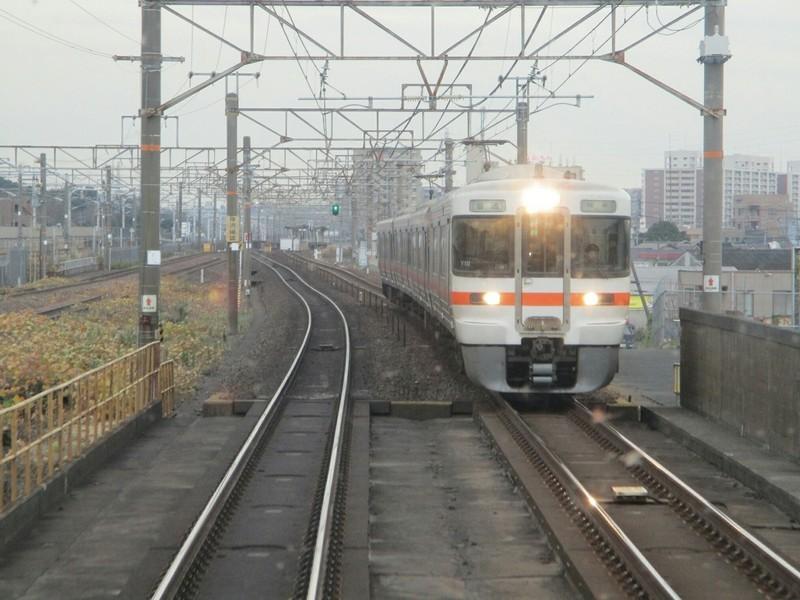 2018.12.11 (19) 豊橋いき快速 - 笠寺大高間(岐阜いきふつう) 1400-1050