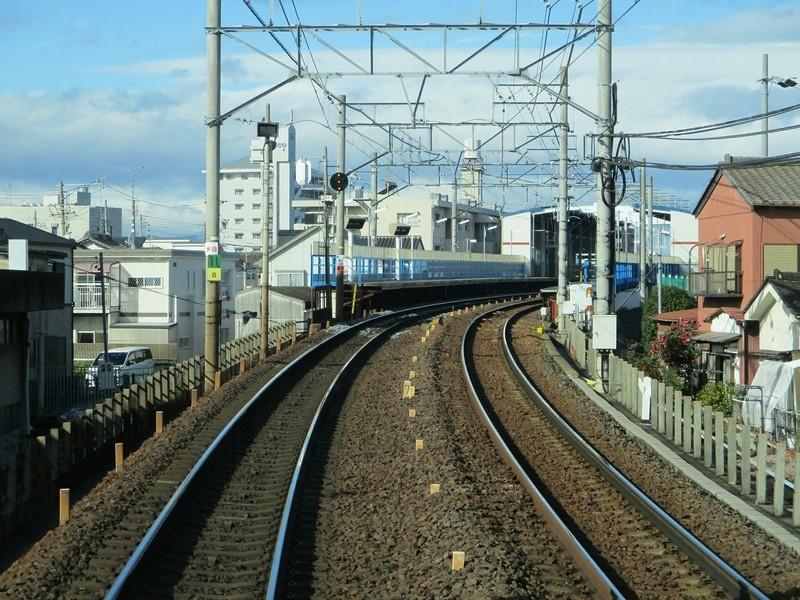 2018.12.12 (19) 須ヶ口いき準急 - 新川橋 1800-1350